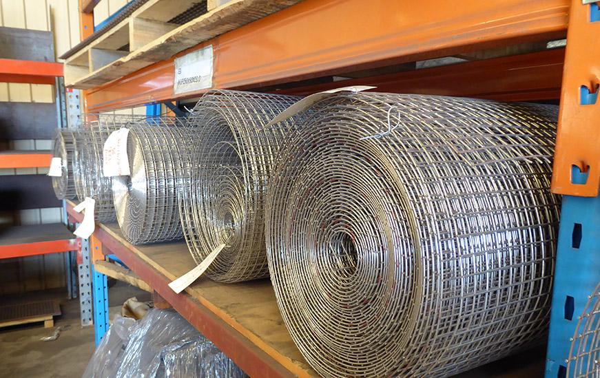 Welded Rolls Stock Perth Warehouse