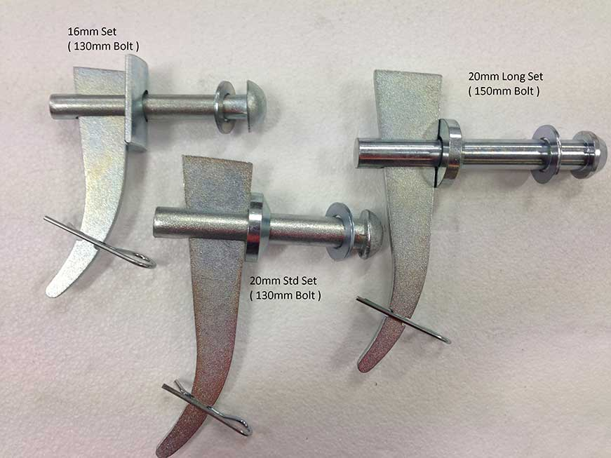 Screen Tension Wedge Bolt Set