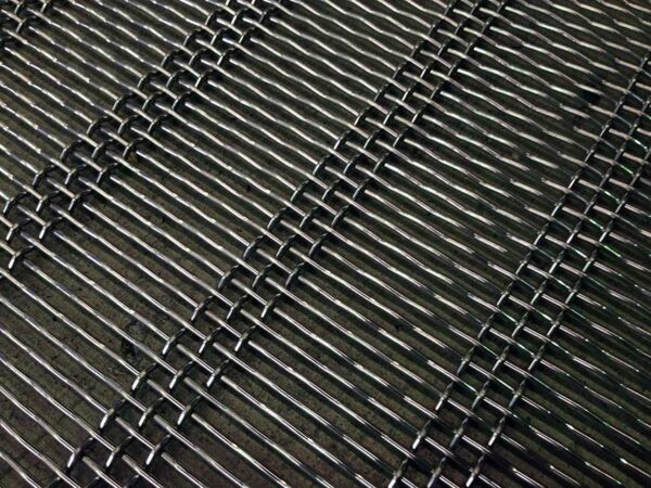 Woven Wire slotted mesh