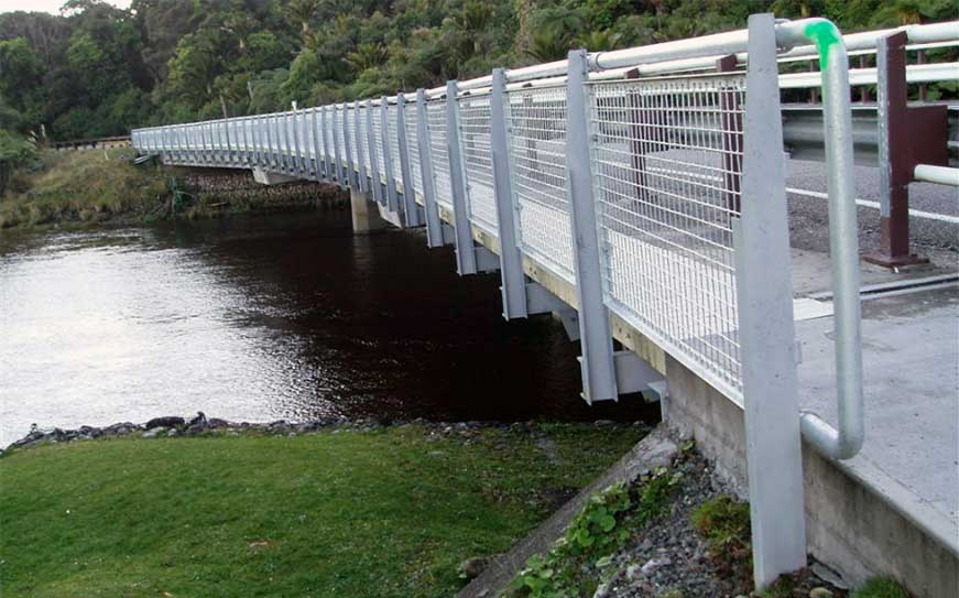 Architectural Mesh Bridge Fencing Barrier